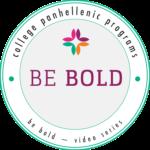 Be Bold program logo